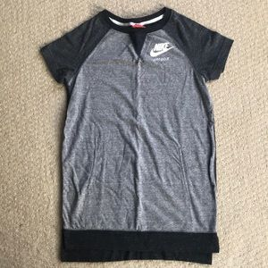 Nike tshirt dress with pockets